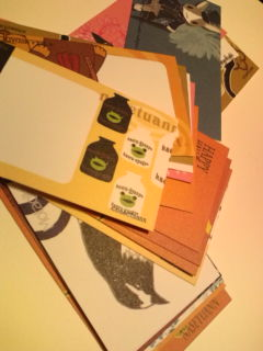 メッセージカードの詰め合わせ